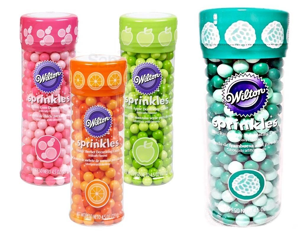kit 4 perolas comestivel saborizadas coloridas acucar wilton D NQ NP 829080 MLB27227622548 042018 F - Perolas comestíveis: Uma maneira fácil de decorar bolo
