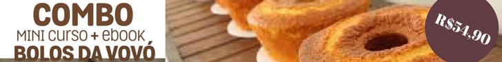BOLOS DA VOVÓ - Bolo de milho de liquidificador