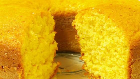 Bolo de milho de liquidificador