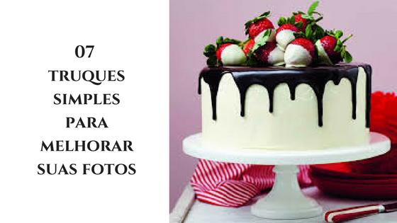 Como fotografar bolos e cupcakes