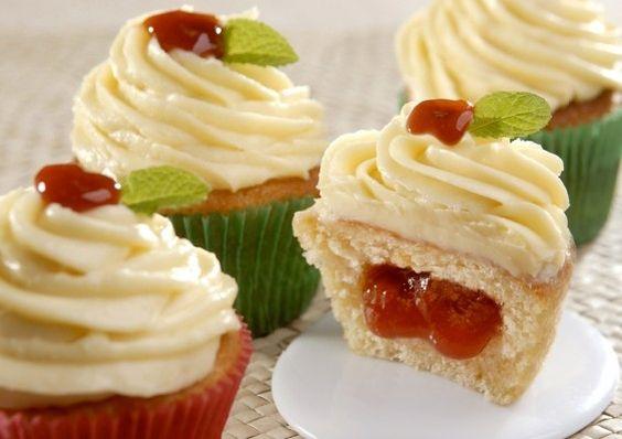 Cupcakes Romeu e Julieta