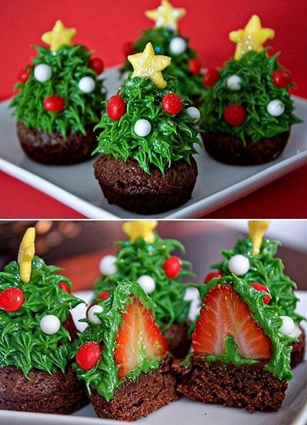 Ideias de Cupcakes Natalinos