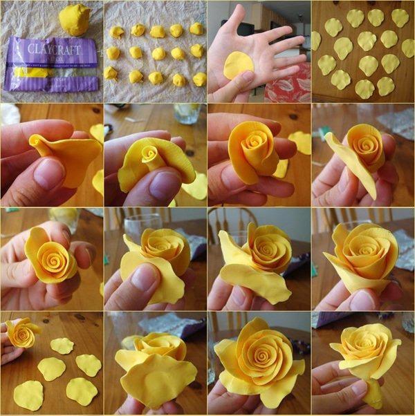 Sugestões de Biscuit de Flor 19 - Como fazer flores de pasta americana