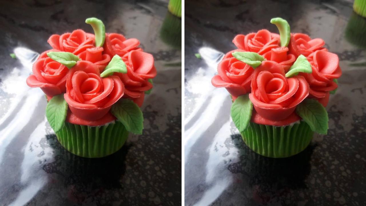 Decoração de Cupcakes de Rosas I Passo a Passo I
