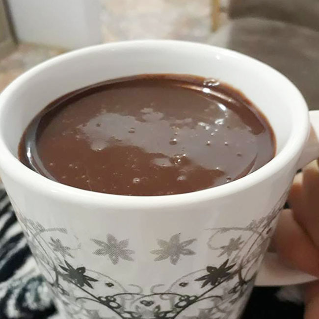 Chocolate Quente SEM Leite - Chocolate Quente sem leite
