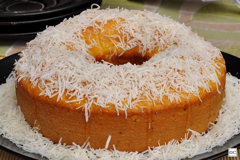 receita de bolo de fubá com coco - 10 Bolos da Vovó Com Sabor de Infância