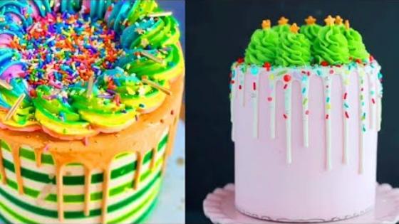 Idéias de Bolo de aniversário Mais LINDOS do mundo 👍🍪