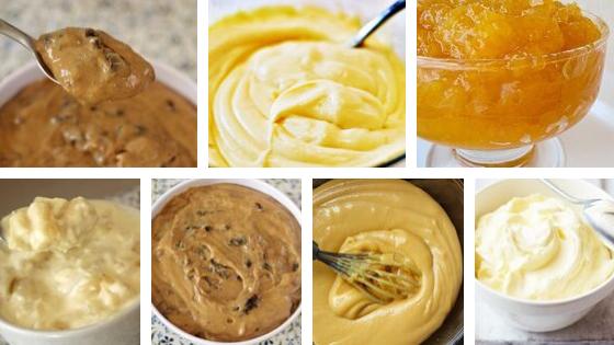 7 receitas de recheios para bolos - Deliciosos