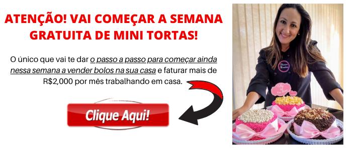 ATENÇÃO VAI COMEÇAR A SEMANA GRATUITA DE MINI TORTAS 1 1 - PUDIM DE LEITE NINHO QUE NÃO VAI AO FORNO